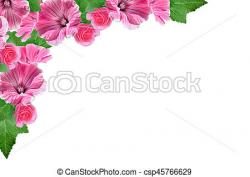Petunia clipart colorful flower