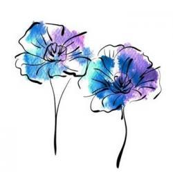 Petunia clipart pretty flower