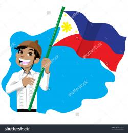 Ceremony clipart philippine flag