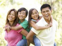 Phillipines clipart happy filipino family