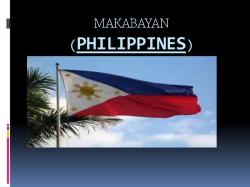 Phillipines clipart makabayan