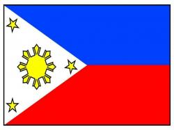 Phillipines clipart philippine flag
