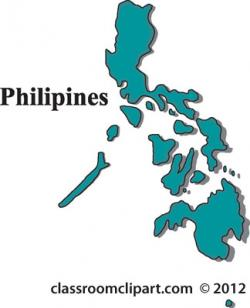 Phillipines clipart philippine map
