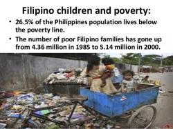 Philipines clipart poor child