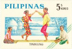 Phillipines clipart tinikling