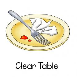 Plate clipart clear dish