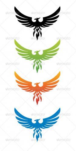 Fenix clipart emblem