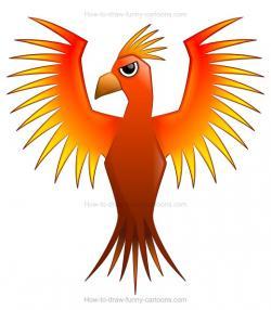 Phoenix clipart draw a