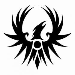 Phoenix clipart emblem
