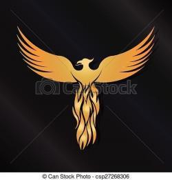 Phoenix clipart icon