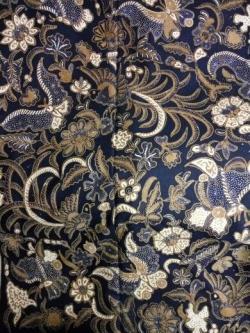 Fenix clipart motif batik