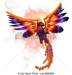 Phoenix clipart rising phoenix