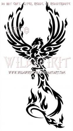 Fenix clipart rising phoenix