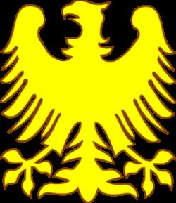 Phoenix clipart yellow
