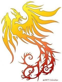 Fenix clipart yellow
