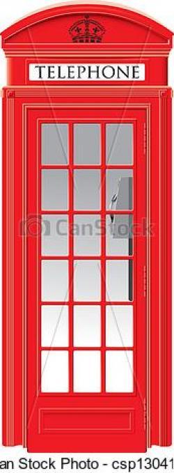 Phone Box clipart england