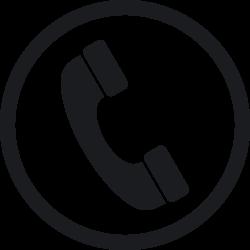 Receiver clipart telephone logo