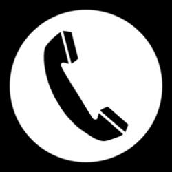Telephone clipart simbol