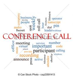 Phone clipart conference call