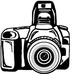 Photography clipart canon camera
