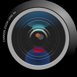 Lens clipart cartoon camera