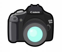 Camera clipart canon camera