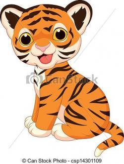 Bengal clipart cute tiger
