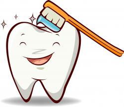 Toothbrush clipart cute