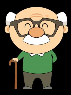 Face clipart grandpa