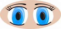 Brown Eyes clipart