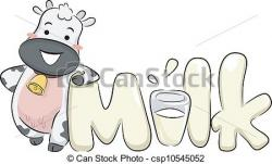 Cattle clipart milk product