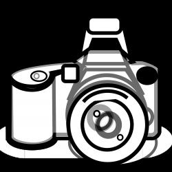 Nikon clipart black and white