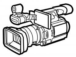 Nikon clipart outline