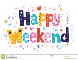 Amonday clipart happy weekend