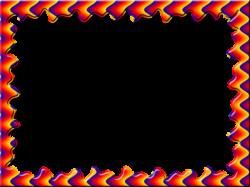 Physcedelic clipart fun frame