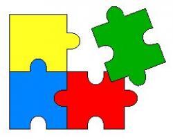 Puzzle clipart structure