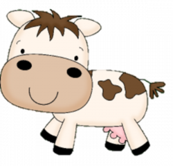 Cattle clipart baby cow