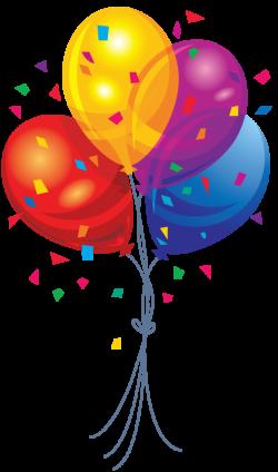 Balloon clipart streamer