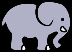 Larger clipart elephant cartoon