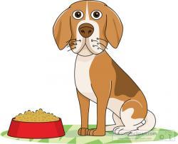 Pet clipart dog sitting