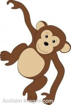 Chimpanzee clipart cute