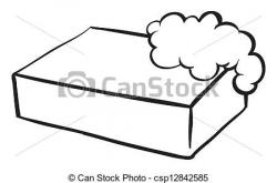 Soap clipart black and white