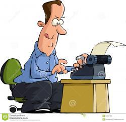 Desk clipart author