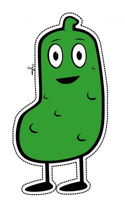 Pickles clipart happy