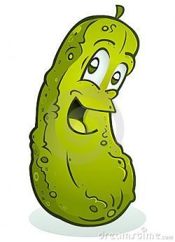Pickles clipart bitter taste