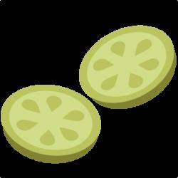 Cucumber clipart cucumber slice