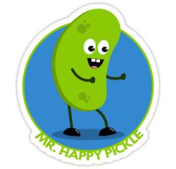 Pickle clipart happy