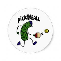 Pickle clipart pickleball