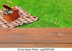 Picnic Basket clipart picnic blanket