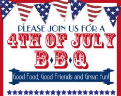 Barbecue clipart 4th july